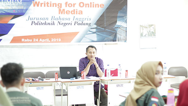 Kuliah Umum: Writing for online Media